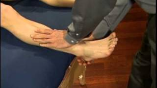 Sprained Ankle Massage - Alberta Massage Training