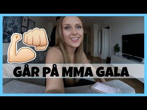 VLOGG | Går på MMA gala, lagar vego-mat &  fikar med pappa