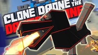 НАШЁЛ КРУТОЙ БАГ, МИСТИЧЕСКИЕ ЧУДОВИЩА, ОБНОВЛЕНИЕ   Clone Drone in the Danger Zone