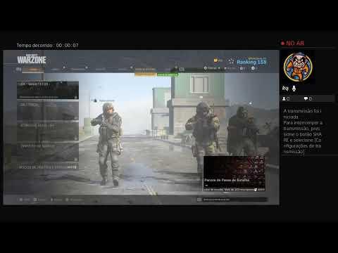 Transmissão ao vivo do PS4 de ageno10