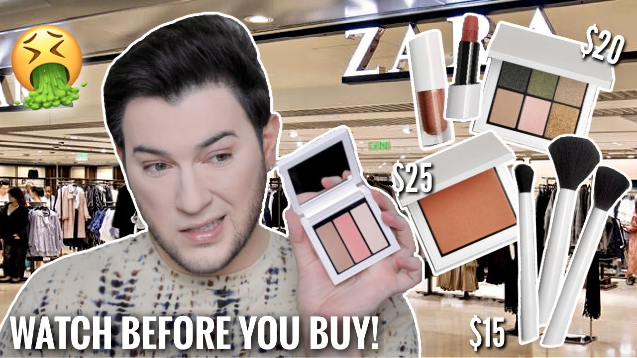 ZARA HAS A MAKEUP LINE?! I BOUGHT IT ALL SO YOU DON'T HAVE TO