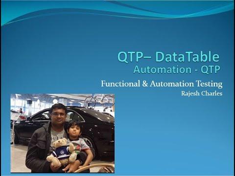 43 QTP DataTable