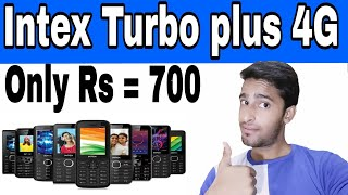 Intex turbo plus 4g VoLTE in hindi Intex ECO 102 plus Intex ECO 106 plus SidTalk