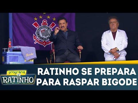 Ratinho Paga Promessa De Raspar Bigode | Programa Do Ratinho (09/04/18)