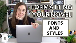 Choosing the FONT(s) + the Style Pane in WORD | formatting your novel from scratch (Formatting Pt 5)