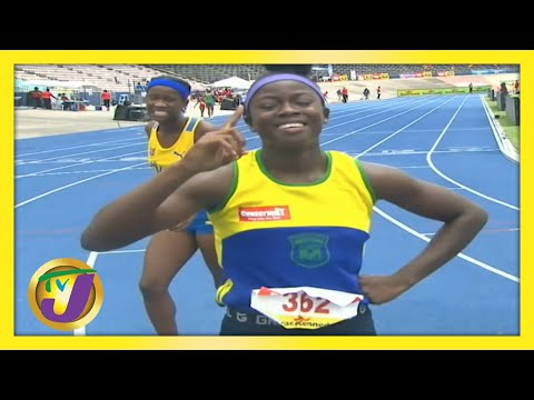 TVJ Sports Commentary   Future Stars in Boys & Girls Champs in Jamaica
