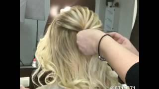Греческая коса- Как сделать греческую косу