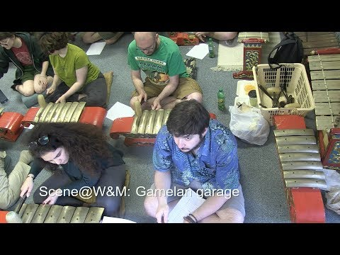 Scene@W&M: Gamelan garage