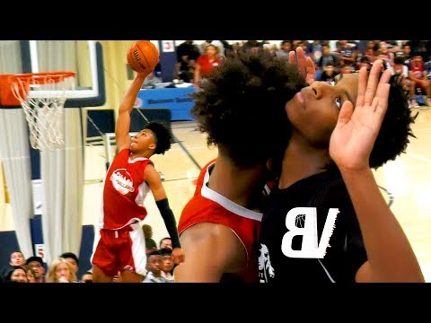 Mikey Williams Dunks TWICE + Hits 3 From VOLLEYBALL LINE! Catching LOBS + Drops 31 In ONE HALF!!