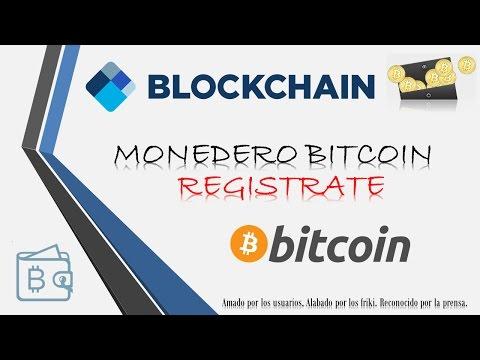 Como REGISTRARSE en BLOCKCHAIN 2017 💰 Gana dinero Online