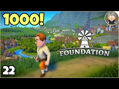 Foundation Early Access - 22 - 1000 Villagers, 95 Happiness, and More Room to Grow 🏠