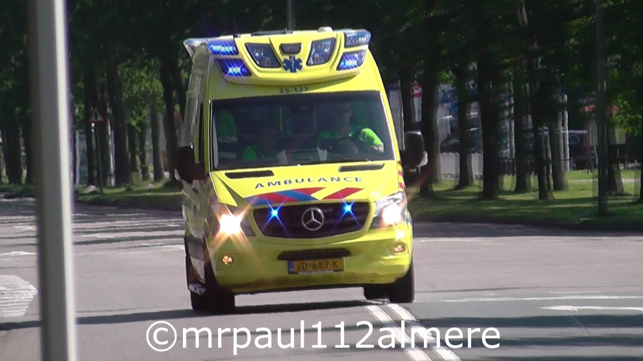A1 Nieuwe Delfis Ned Ambulance Flevoland 25 127 25 117 In