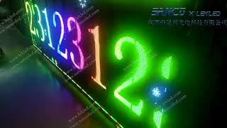 RGB Full color LED Scrolling Sign- LEKLED