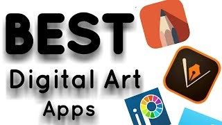 Best Digital drawing apps on android|autodesk sketchbook | adobe draw | ibis paint | infinity design