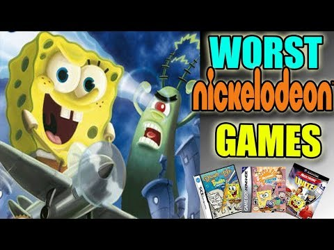 The Worst Nickelodeon Games Ever | Spongebob, Loud House, Rugrats