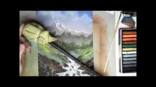 Six (More) Super Short Art Tips - #4 For a Steady Hand, Use a Mahl Stick