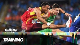 110m Hurdles Training with Spain's Orlando Ortega | Gillette World Sport