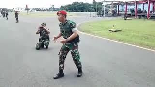 Yel-yel TNI POLRI di Komandoi Kopassus