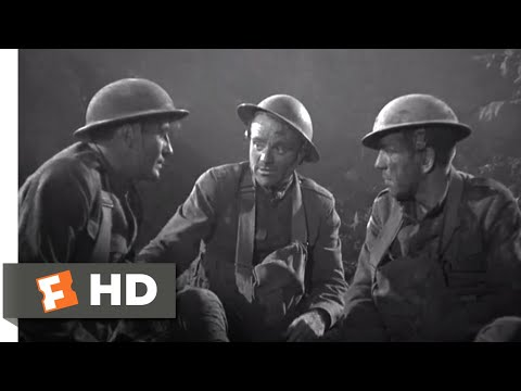 The Roaring Twenties (1939) - Making Friends in a Shell Hole Scene (1/8) | Movieclips