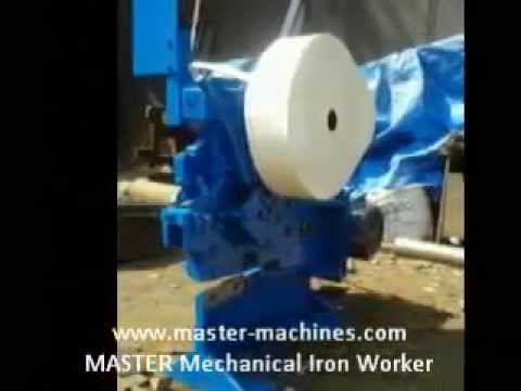MASTER Mechanical Iron Worker by Machine Tool Traders