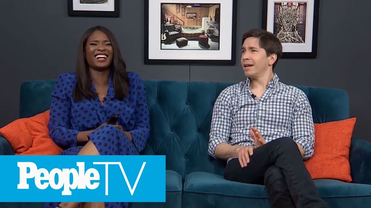 Justin Long Talks About First Onscreen Kiss With Britney Spears | PeopleTV