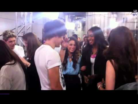 One Direction chat w/ The X-Factor USA contestants
