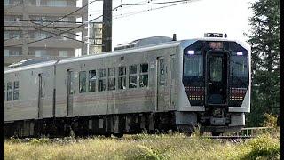 臨時快速「只見紅葉満喫号」GV-E400系 新潟→只見9732D