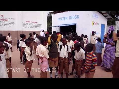 Building the Water Kiosk The Gambia