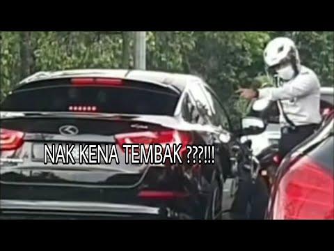 #viralmalaysia #trending #terkini.                Cuba Langgar Polis Dan Melarikan Diri Elak Ditahan