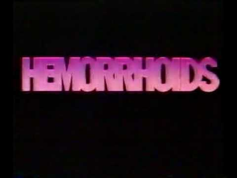 Anusol Hemorrhoid Commercial 1986 Youtube