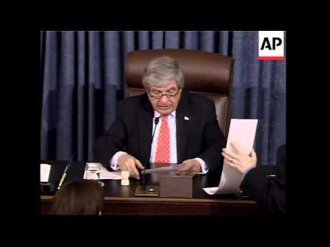 Senate gridlocks on Iraq war resolution passed by House