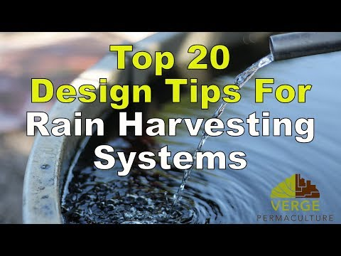Top 20 Design Tips For Rain-Harvesting Systems