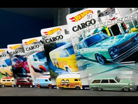 Lamley Preview: Hot Wheels Car Culture Cargo Carriers