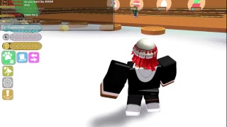 no talking just playing roblox. pet sim new update. give away for dark matter