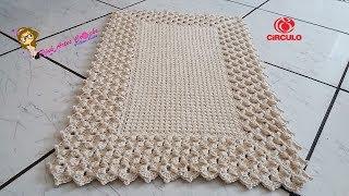 Tapete Pérola do Oriente Pink Artes Crochê by Rosana Recchia