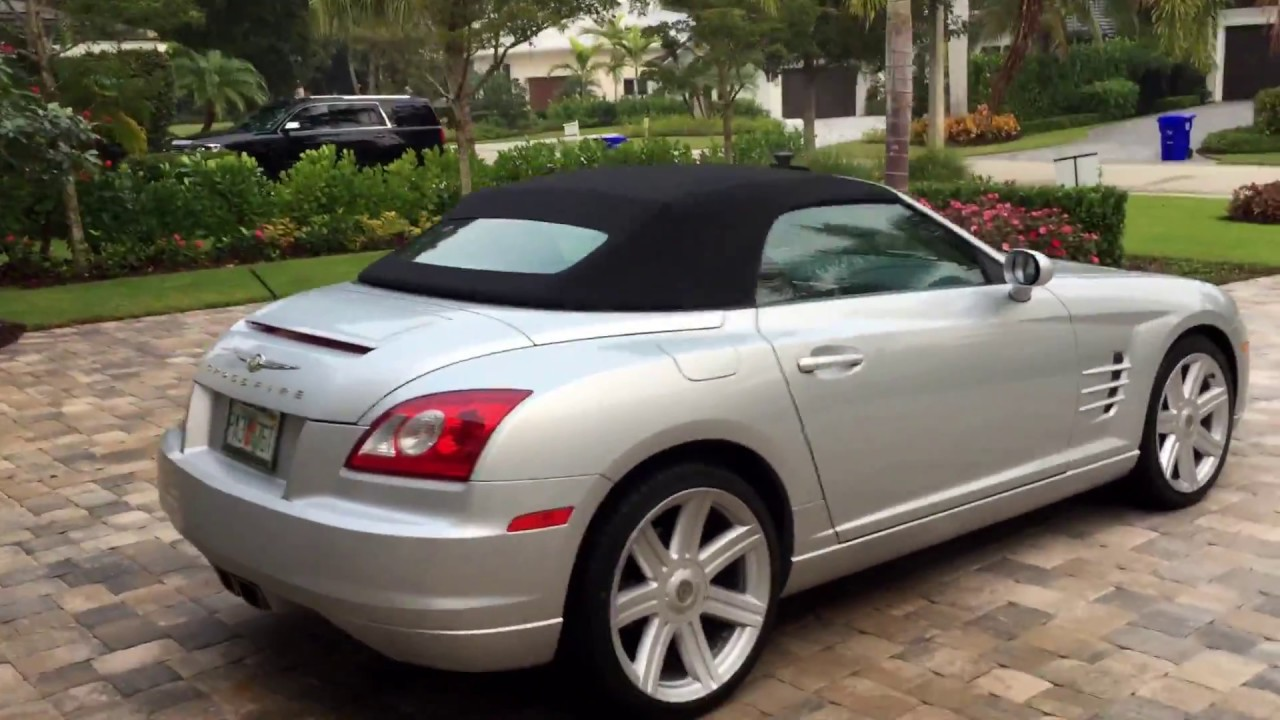 2008 chrysler crossfire limited roadster for sale by auto europa naples youtube. Black Bedroom Furniture Sets. Home Design Ideas