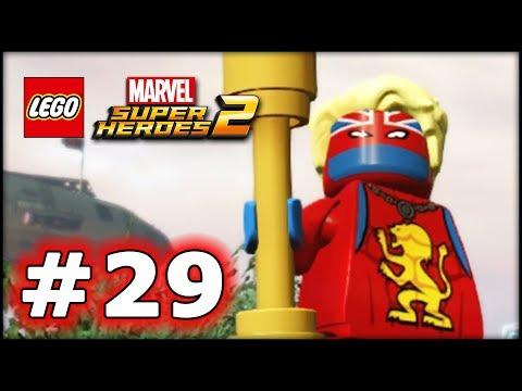 LEGO Marvel Superheroes 2 - LBA Episode 29 - The Dragon Hunter! - 동영상