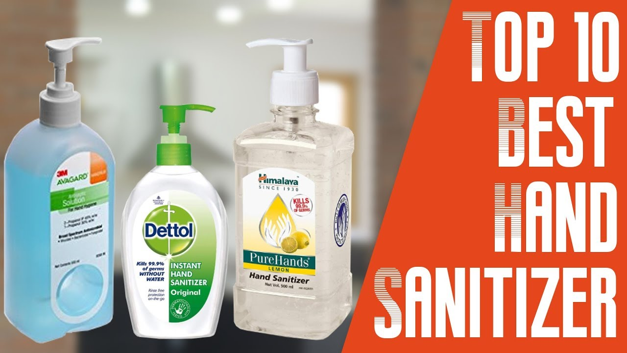 10 Best Hand Sanitizer With Price India Youtube
