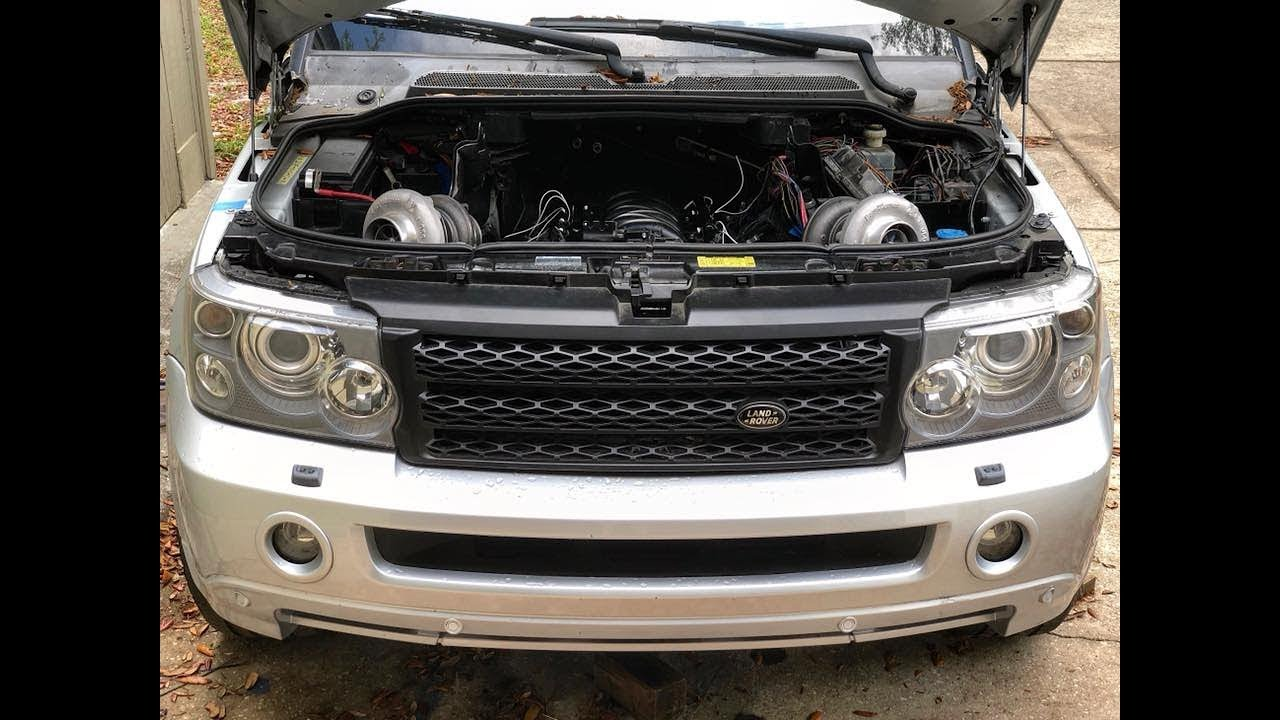 2008 Range Rover Sport LS Swap Twin Turbo Build