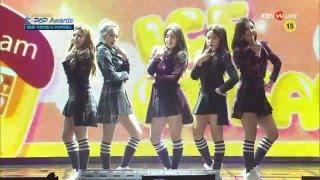 160217 Red Velvet (레드벨벳) - Automatic + Ice Cream Cake @5th Gaon Chart KPOP Awards 가온차트 어워드 MP3