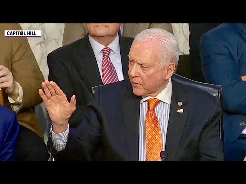 Perfect Response to Democrat's Class Warfare Demagoguery by Republican Senator Orrin Hatch