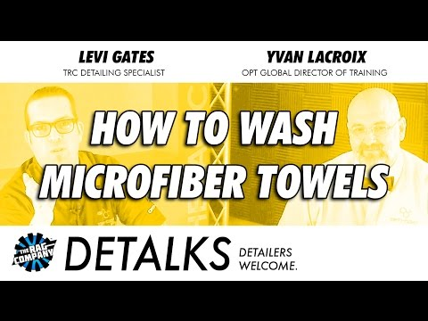 How To Wash Your Microfiber Towels | DETALKS