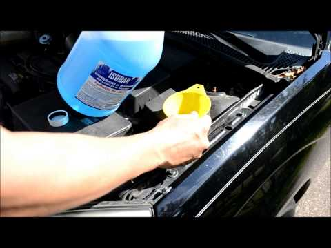 Ford Focus ZX-3, How To Add Windshield Wiper Fluid