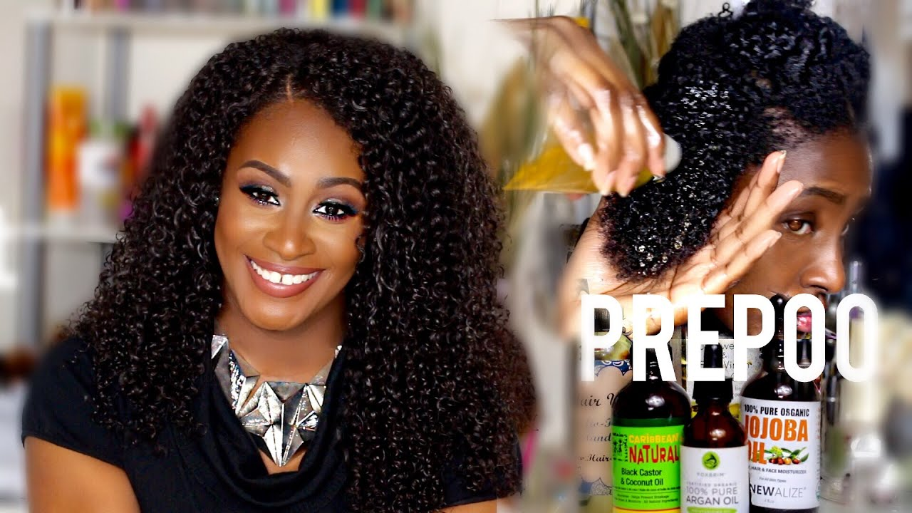 How To Prepoo Your Natural Hair