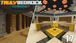 Gold Farm & Storage Silo COMPLETE. Bastion & Lava Lake Dig Out Started | Truly Bedrock S2 EP17
