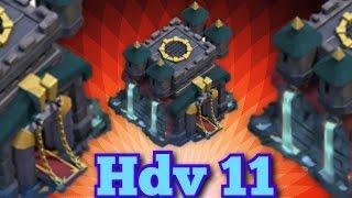 Clash of Clans - Hôtel de Ville Niveau 11 (Idée de Mise à Jour)