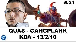 Liquid Quas - Gangplank vs Darius - NA SoloQ