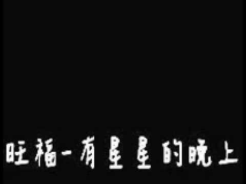 旺福-有星星的晚上