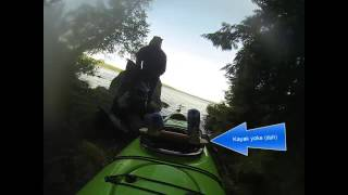 Detailed video: portaging a kayak(This video brings some of my other videos together in a real world example. I show a complete (albeit short) portage from start to finish, filmed from the ..., 2014-07-11T23:22:40.000Z)