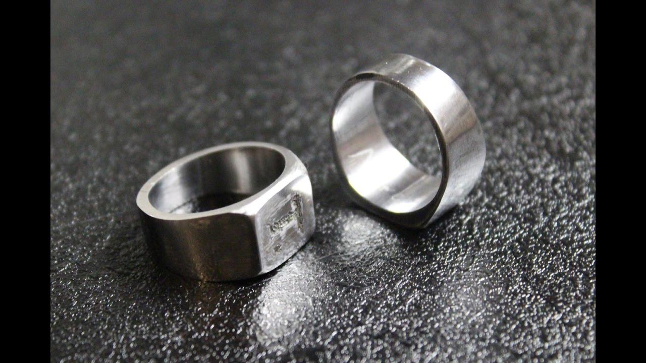 Nut Wedding Ring